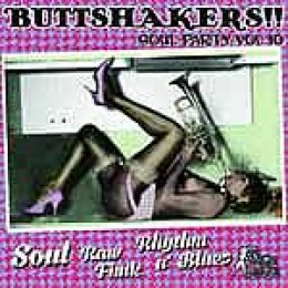 V/A - Buttshakers! Soul Party Vol.10 LP