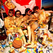 NEW SWEARS - Junkfood forever, bedtime whatever LP