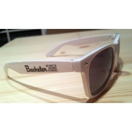 Bachelor Hipster Shades White