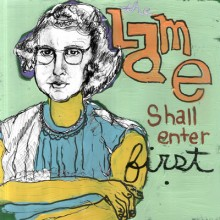 LAME - The lame shall enter first LP
