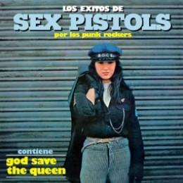 LOS PUNK ROCKERS - Los exitos de Sex Pistols LP