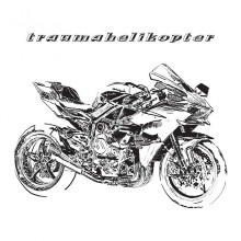 """TRAUMAHELIKOPTER - Look the other way / No hope 7"""""""