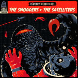 SPLIT - THE SMOGGERS / THE SATELLITERS 2x7""