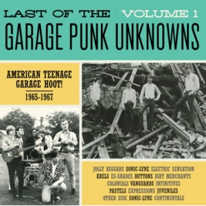 V/A - LAST OF THE GARAGE PUNK UNKNOWS Vol.1 LP