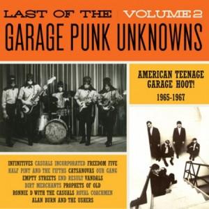 V/A - LAST OF THE GARAGE PUNK UNKNOWS Vol.2 LP