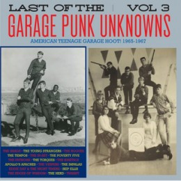 V/A - LAST OF THE GARAGE PUNK UNKNOWS Vol.3 LP