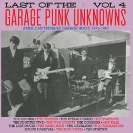 V/A - LAST OF THE GARAGE PUNK UNKNOWS Vol.4 LP