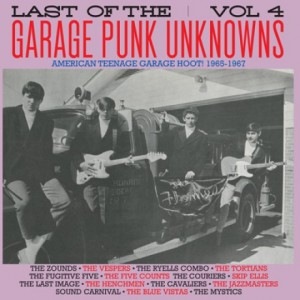 V/A - LAST OF THE GARAGE PUNK UNKNOWS Vol.4 LP
