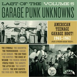 V/A - LAST OF THE GARAGE PUNK UNKNOWS Vol.5 LP