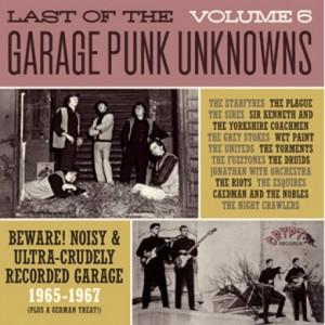 V/A - LAST OF THE GARAGE PUNK UNKNOWS Vol.6 LP
