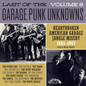 V/A - LAST OF THE GARAGE PUNK UNKNOWS Vol.8 LP