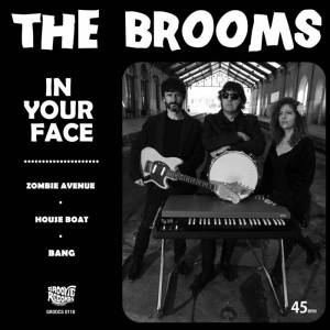 """BROOMS, THE - In Your Face 7"""""""