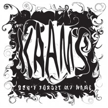 THE KAAMS - Don't forget my name / The Letter 7""