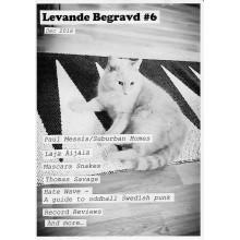 LEVANDE BEGRAVD #6 Zine