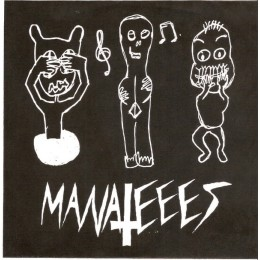 MANATEEES - Dumbesticated / Time-Killer 7""