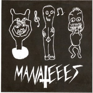 "MANATEEES - Dumbesticated / Time-Killer 7"""