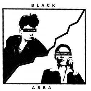 BLACK ABBA - Lost Dog 7""