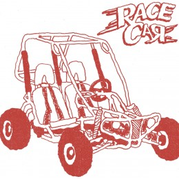 RACE CAR - Go Build Your Own Go Kart 7""