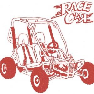 """RACE CAR - Go Build Your Own Go Kart 7"""""""