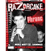 RAZORCAKE #101 zine