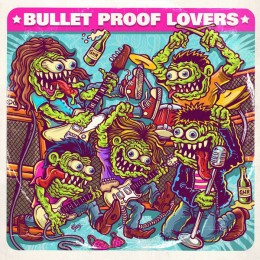 """BULLET PROOF LOVERS - I am my radio / Cry in the night 7"""""""