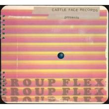 "V/A - GROUP FLEX Vol.1 6 × Flexi-disc, 7"", Compilation, spiral bound book"