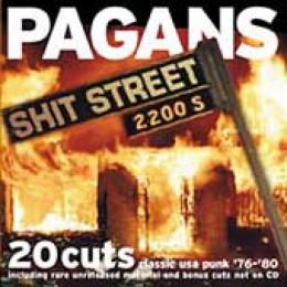 PAGANS - Shit Street LP