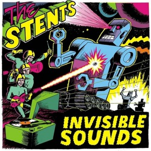 THE STENTS - Invisible Sounds LP