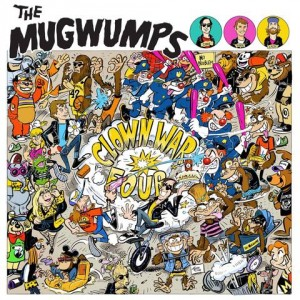 MUGWUMPS - Clown War Four LP