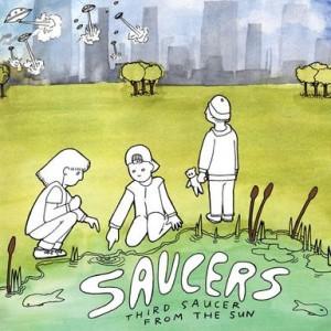 SAUCERS - Third Saucer From The Sun LP