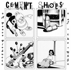 """CEMENT SHOES - A peach product of the USA 7"""""""