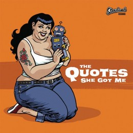 QUOTES, THE / DOUG STANHOPE split 7""