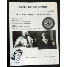 REAL BOSS HOSS Issue Number 3 zine