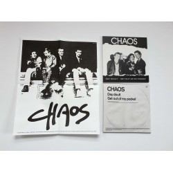 CHAOS - Day Doult / Get Out of my Pocket 7""