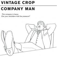 """VINTAGE CROP - Company Man 7"""""""