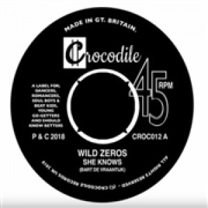 WILD ZEROS - She Knows / Nobody Can Tell Us 7""