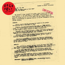 """COLD FEET - Punk Entity 12"""""""