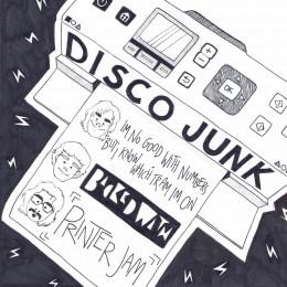 "DISCO JUNK / COLLECTIVE HARDCORE 7"""