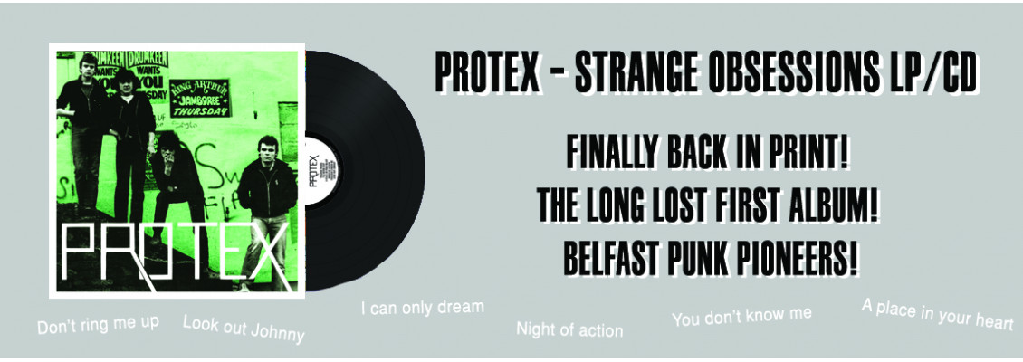 Protex - Strange Obsessions LP / CD