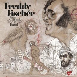 FREDDY FISCHER & HIS COSMIC ROCKTIME BAND - dreimal um die Sonne LP
