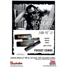 PERSONAL AND THE PIZZAS - Pocket Comb (Bachelor)