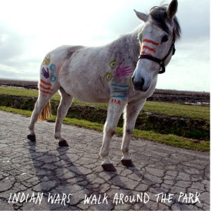 INDIAN WARS - Walk around the park LP