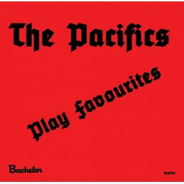 "PACIFICS, THE - Play Favourites 7"" second pressing!"